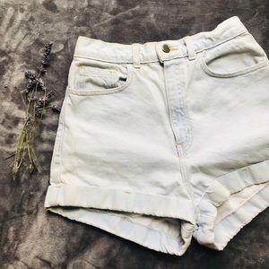"Vintage style 'American Apparel"" high waist shorts"